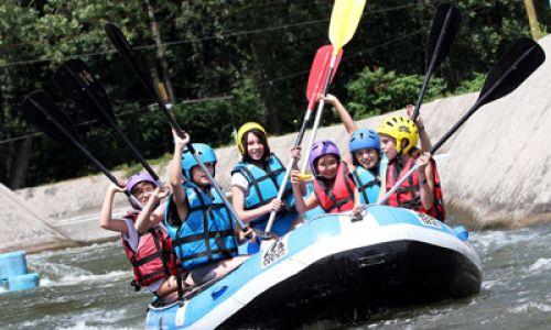 Summer camps - enjoying outdoor sports