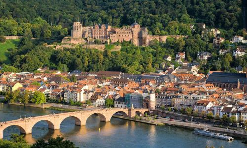 Private German courses in Germany - enjoying German Rhine villages