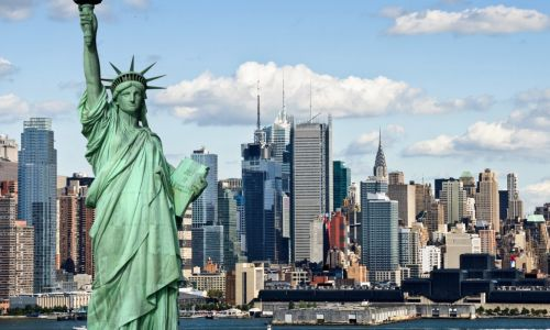 Private English courses in the USA - Manhattan view