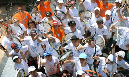 Tennis summer camps in France - improving every day
