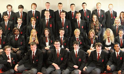 private High School in monaghan and cavan - High School students during a fancy dress party