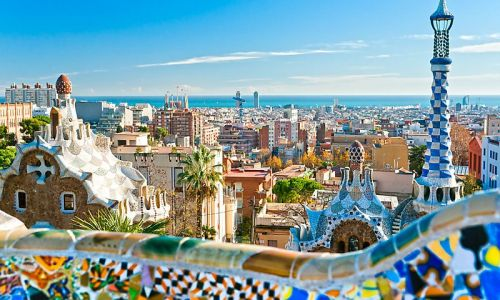 Spanish courses in Barcelona - the Gaudi city