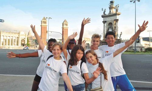 Spanish summer camp in Barcelona Beach - Activities in Barcelona