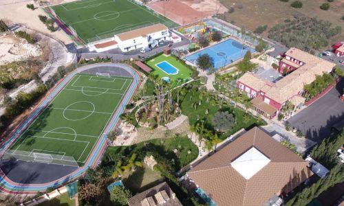 international summer camp in Spain - campus