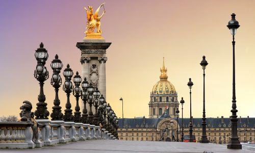 Escuela de francés en París - atardecer