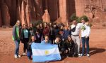 Exchange Program in Argentina - Group of Students at the Patagonia