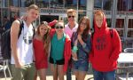 High School exchange in Montreal - Pupils during School Trip in Montreal Canada