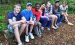 Intercambio escolar en Canadá - Estudiantes en un paseo escolar