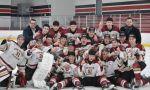 Hockey High School in Canada - High School students winning a hockey game