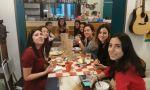 Summer homestay in Italy - enjoying Italian meals together