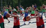 Basketball summer camps in the USA - outdoor training