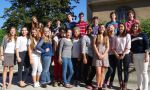 High School Exchange in France - Group of international students during their exchange program in France