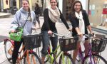Loire Valley boarding schools - Exchange Students enjoying a biking ride in Loire Valley