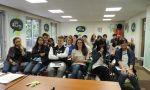 Ano escolar en París - Estudiantes de intercambio de secundaria durante la orientación en París