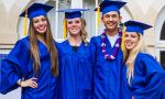 International boarding school in Paris - Seniors during their graduation day