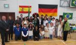 private High School in monaghan and cavan - Exchange students during international day