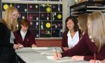 Exchange program in Christchurch - International Students during science class