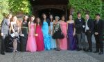 International High School in the USA - International Students during prom night