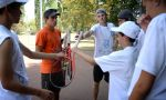Tennis summer camp in France - debriefing trainings with the trainer