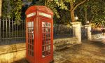 Private English courses in London - Typical London phone boxes!