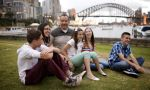 Private English courses in Australia - enjoying time with the teacher's family