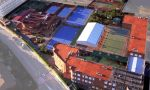 international summer camp in Spain - sky view of the campus