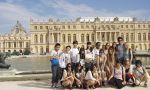 Escuela de francés en París - estudiantes en Versalles