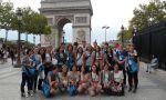 Campamento de verano para adolescentes en París - foto de grupo